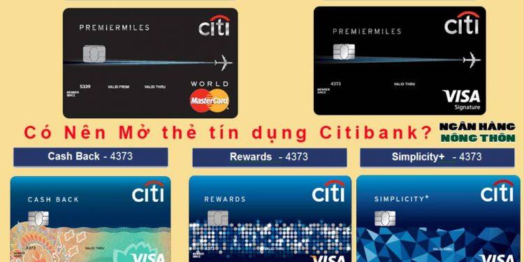 Citibank Lừa Đảo?. Có Nên Mở thẻ tín dụng Citibank