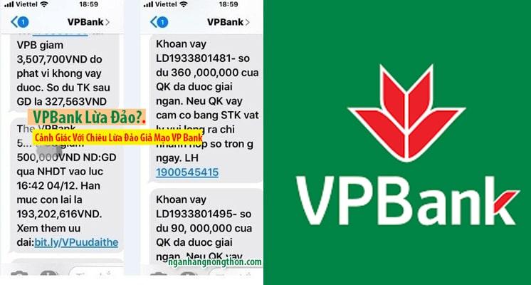 Thẻ Tín dụng VPBank Lừa Đảo + Cảnh Giác Lừa Đảo Tinh Vi VP Bank Giả