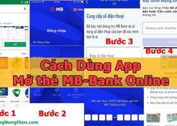 Cách Dùng App mở thẻ MB-Bank Online Ngay Tại Nhà Nhanh chóng