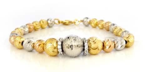 Lắc tay vàng Ý nhập khẩu