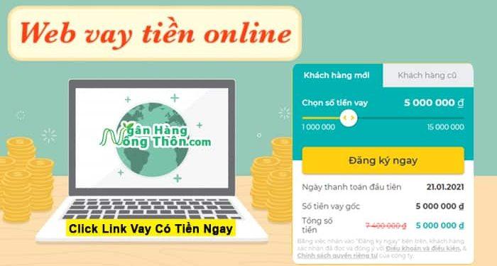 Trang Web Vay Tiền Online Uy Tín 2021 + Click Link Vay Có Tiền Ngay