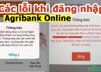 Các lỗi thường gặp khi đăng nhập Agribank Online và cách xử lý
