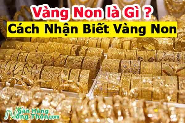 Vàng Non Là Gì, Vàng 10K Phai Màu Không. Cách Nhận Biết Vàng Non