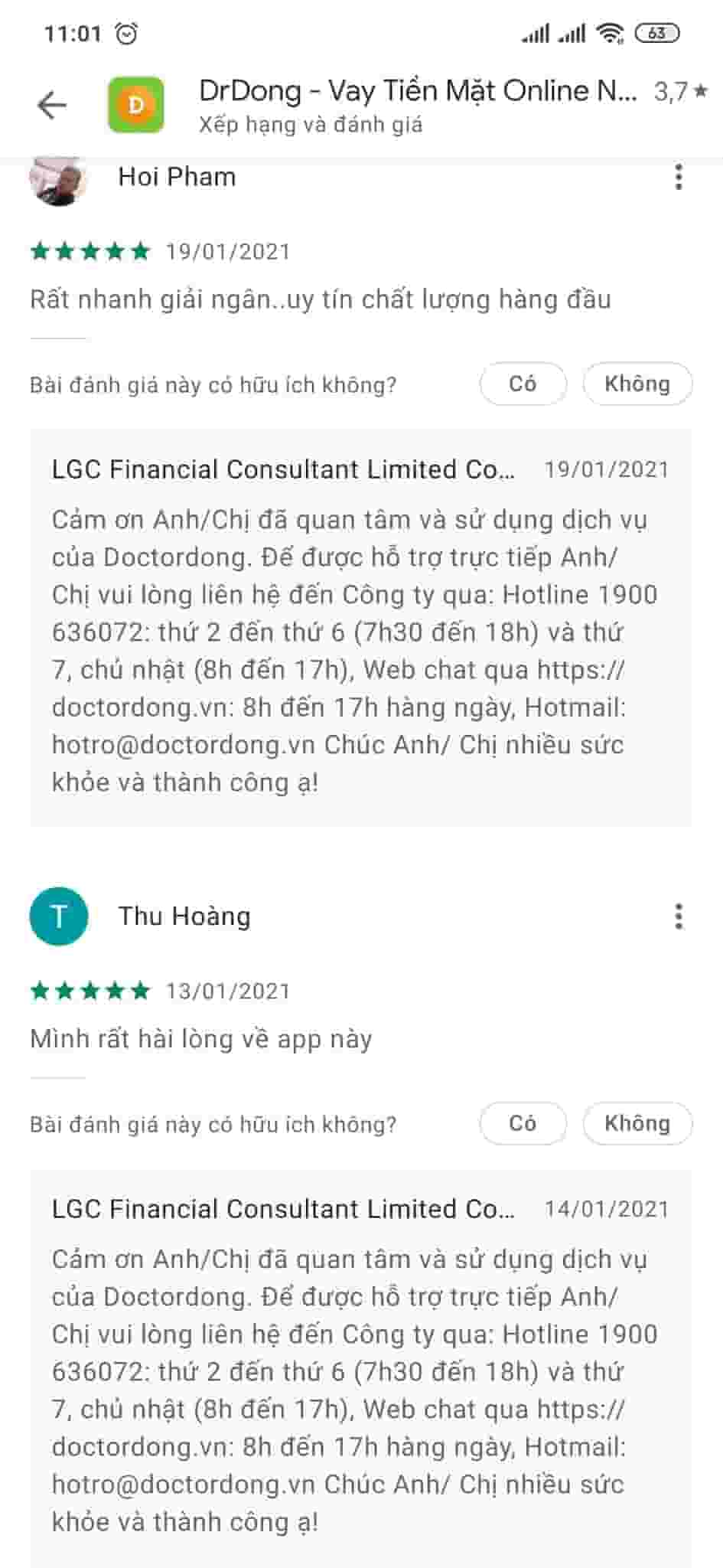 Doctor Đồng lừa đảo có đúng không? Kiểm tra hồ sơ vay dr Đồng