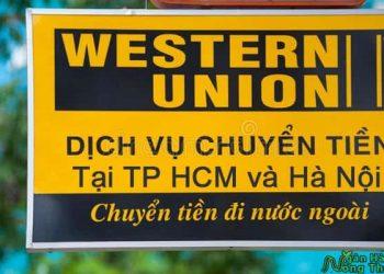 Các địa điểm nhận tiền Western Union ở TPHCM, Hà Nội