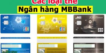 Các loại thẻ ngân hàng MB