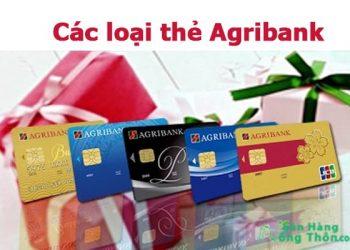 Các loại thẻ ATM ngân hàng Agribank và Biểu Phí