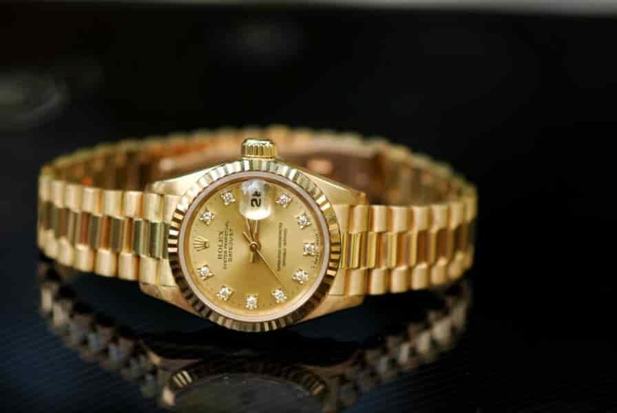 Đồng hồ Rolex nguyên khối 18K chính hãng Thụy Sỹ