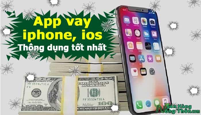 App vay tiền bằng iphone, icloud