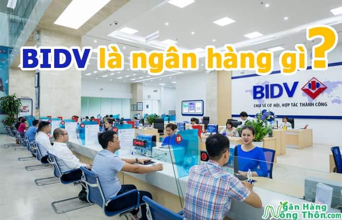 BIDV là ngân hàng gì? Mã ngân hàng, tên tiếng anh BIDV là gì?