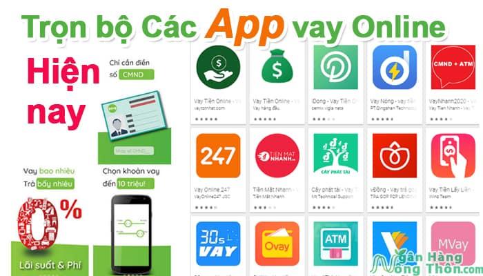 Trọn bộ các App vay tiền Online hiện nay, app Vay nhanh siêu tốc 24/7 & Uy tín.psd