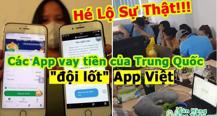 các App vay tiền của Trung Quốc đội lốt App Việt-min