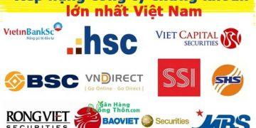Xếp hạng top 20 công ty chứng khoán lớn nhất Uy tín Việt Nam