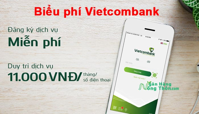 Biểu phí Vietcombank