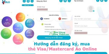 Hướng dẫn đăng ký, mua thẻ Visa/Mastercard Ảo Online Miễn Phí