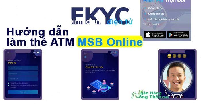 Hướng dẫn làm thẻ ATM MSB (Maritime Bank) Online Miễn Phí tại nhà