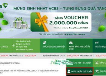 Hướng dẫn mở tài khoản chứng khoán Vietcombank (VCBS) Online trên điện thoại