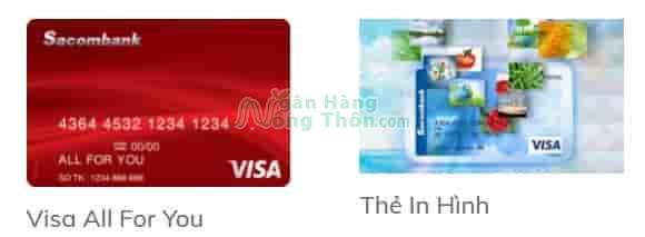 Thẻ trả trước Sacombank