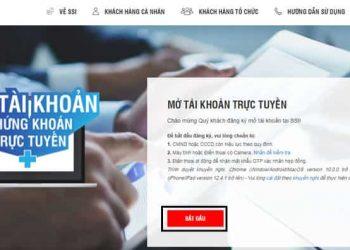 Hướng dẫn cách mở tài khoản chứng khoán SSI Online 2021