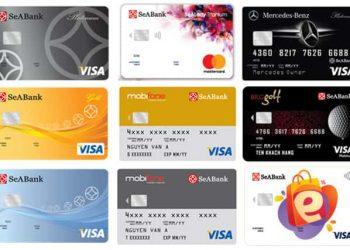 Cách làm thẻ tín dụng SeABank miễn phí và biểu phí thường niên